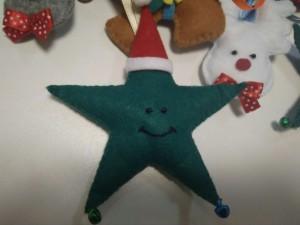фото Елочная игрушка ручной работы 'Звезда' (с колокольчиками) #4
