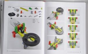 фото страниц Большая книга идей Lego Technic. Машины и механизмы #4