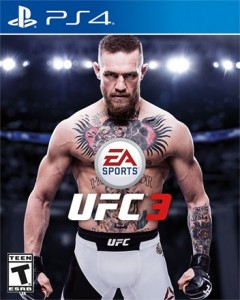 игра UFC 3 PS4 - Русская версия