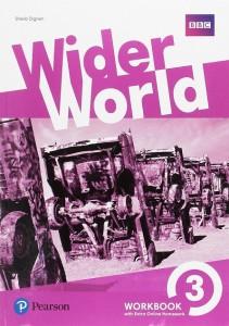 Книга Wider World 3 Workbook with Extra Online Homework Pack