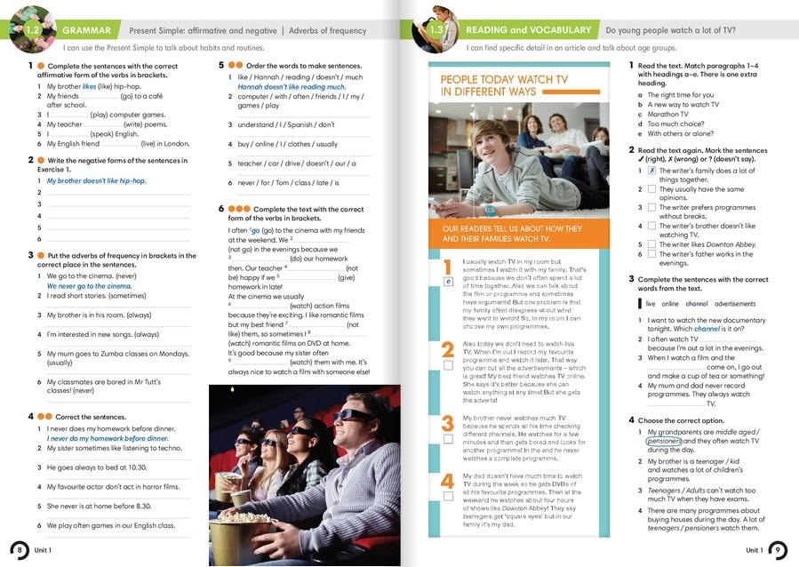 Гдз in touch 2 workbook онлайн