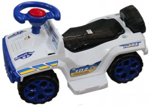 Машинка для катания Ориончик белая (Орион 419)