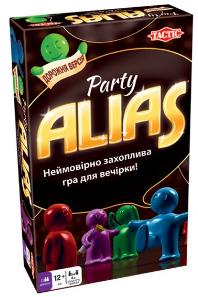 Настільна гра Tactic 'Паті Еліас. Дорожня версія' (Party Alias) (54665)