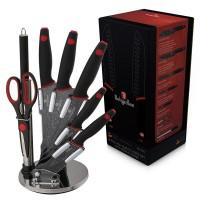 Набор ножей Berlinger Haus 'Black Stone Touch Line' 8 предметов (BH-2119)