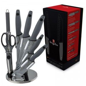 Набор ножей Berlinger Haus 'Granit Diamond Line' 8 предметов (BH-2116)