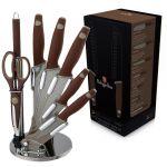 Набор ножей Berlinger Haus 'Granit Diamond Line' 8 предметов (BH-2118)