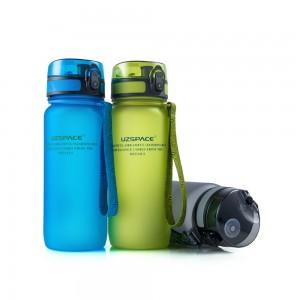 фото Бутылка для воды спортивная Uzspace матовая/голубая 3037 650ml Blue #10