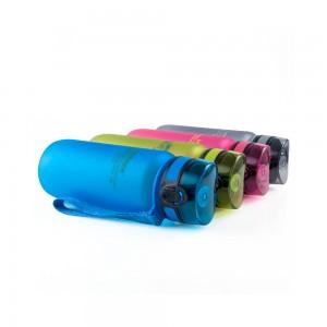 фото Бутылка для воды спортивная Uzspace матовая/голубая 3037 650ml Blue #8