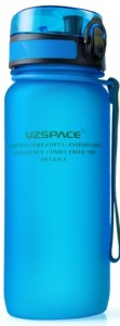 фото Бутылка для воды спортивная Uzspace матовая/голубая 3037 650ml Blue #5