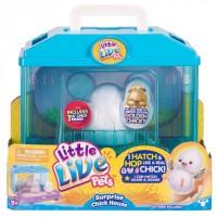 Интерактивная игрушка Moose Little Live Pets Surprise Chick Цыпленок с инкубатором (28325)