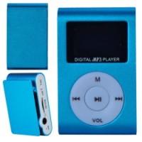 MP3 плеер c дисплеем и наушниками (голубой)