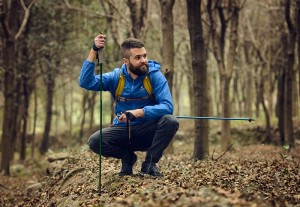 фото  Треккинговые палки NatureHike 'Light trekking poles 7001' lake blue (NH80A016-Z) #5