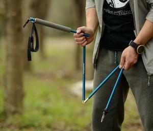 фото  Треккинговые палки NatureHike 'Light trekking poles 7001' lake blue (NH80A016-Z) #4