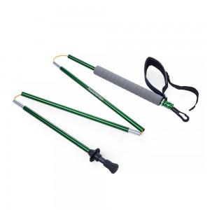 фото  Треккинговые палки NatureHike 'Light trekking poles 7001' green (NH80A016-Z) #2