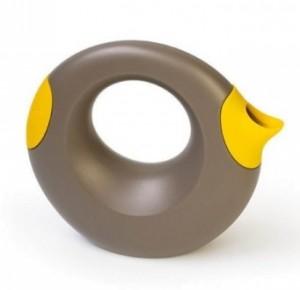 Лейка Quut Cana коричневая/желтая (170594)