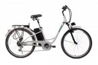 Электровелосипед CITY 26'' (серебро)