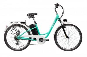 Электровелосипед CITY 26'' (светло синий)