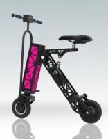 Электрический минибайк EnerGenie 1K (пурпурная подсветка)