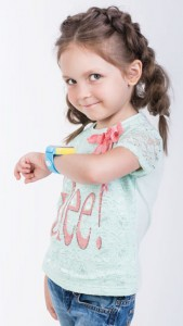 фото Детские умные часы Motto с GPS трекером S-02 Blue #2