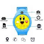 фото Детские умные часы Motto с GPS трекером S-02 Blue #3