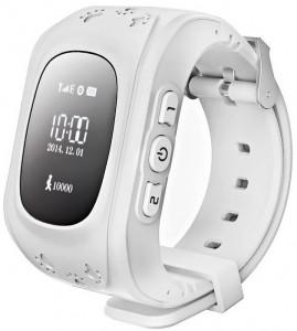Детские умные часы Motto с GPS трекером GW300 (Q50) White