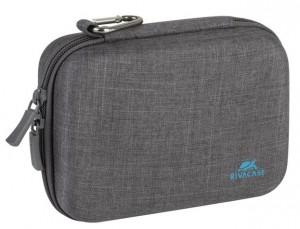 Сумка (чехол) для экшн-камеры RivaCase 7511 Action camera Canvas Case grey