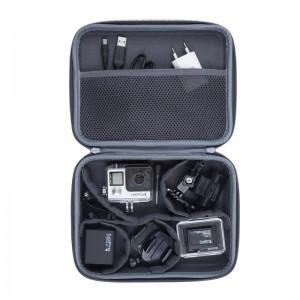 фото Сумка (чехол) для экшн-камеры RivaCase 7512 Action camera Canvas case grey #6