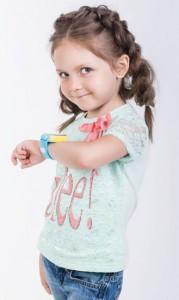 фото Детские умные водонепроницаемые часы Motto с GPS трекером TD-05 Blue #6