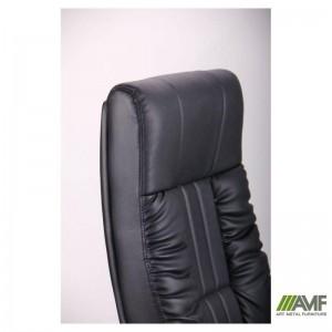 фото Кресло Art Metal Furniture 'Консул НВ' 622-B High-Back Black PU+PVC , HL018 Mech, кожзам черный (031128) #5