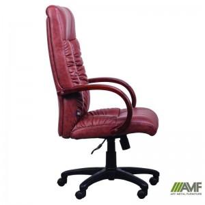 фото Кресло Art Metal Furniture 'Консул НВ' 622-B High-Back Brown PU+PVC, HL018 Mech, кожзам коричневый (031134) #3