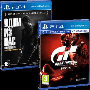 скриншот 'Gran Turismo Sport' и 'The Last of Us Remastered' (суперкомплект из 2 игр для PS4) #2