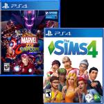 игра 'The Sims 4' + 'Marvel vs. Capcom: Infinite' (суперкомплект из 2 игр для PS4)