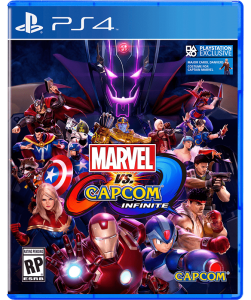 игра Marvel vs. Capcom: Infinite PS4