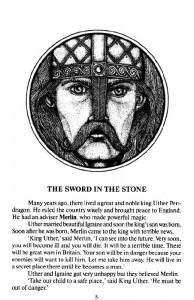 фото страниц Легенды о короле Артуре = Legends of King Arthur #2