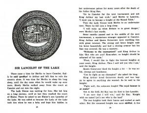 фото страниц Легенды о короле Артуре = Legends of King Arthur #11