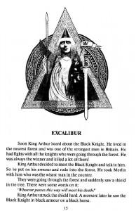 фото страниц Легенды о короле Артуре = Legends of King Arthur #5