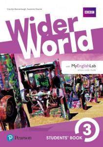 Книга Wider World 3 Students' Book with MyEnglishLab Pack