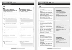 фото страниц Wider World 3 Teacher's Resource Book #4
