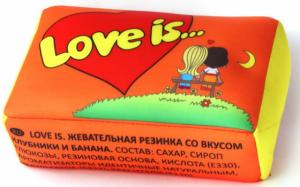фото Подушка 'Love is...' Оранжевая #3