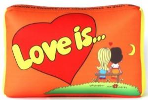 фото Подушка 'Love is...' Оранжевая #2