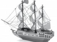 Металлический конструктор 'Корабль Чёрная Жемчужина'