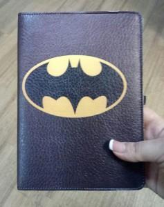 Подарок Блокнот Rainbow А5 'Бетмен' (эко-кожа) (бежевые листы)