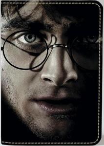 Подарок Обложка на паспорт 'Гарри Поттер' (Эко-Кожа)