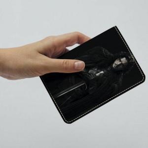фото Обложка на паспорт 'Игра престолов. Джон Сноу' (Эко-Кожа) #2