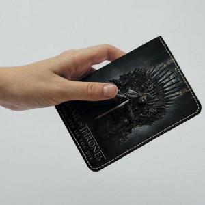 фото Обложка на паспорт 'Игра Престолов. Железный трон' (Эко-Кожа) #2