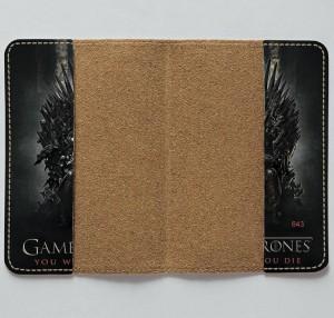 фото Обложка на паспорт 'Игра Престолов. Железный трон' (Эко-Кожа) #4