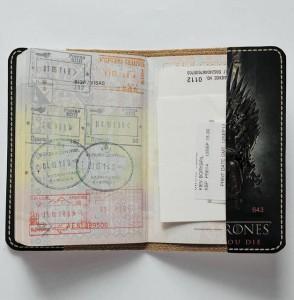 фото Обложка на паспорт 'Игра Престолов. Железный трон' (Эко-Кожа) #3