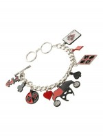 Подарок Браслет Bioworld 'DCO - Harley Quinn Charm Bracelet' (FJ35PKDCO)