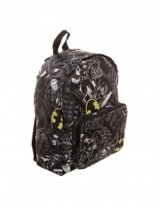 Рюкзак Bioworld 'Backpack Batman Logo Print All Over' (BP562XBTM)