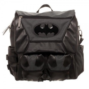 Рюкзак Bioworld 'Batman costume inspired convertible backpack'  (BP4W7ZBTM)